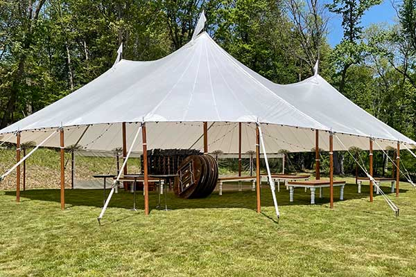 Rent canopy tents at Rhinebeck Party Rentals serving Poughkeepsie, Hudson Valley NY, Saugerties, Newburgh NY, Rhinebeck, Woodstock, Middletown & Dutchess County New York