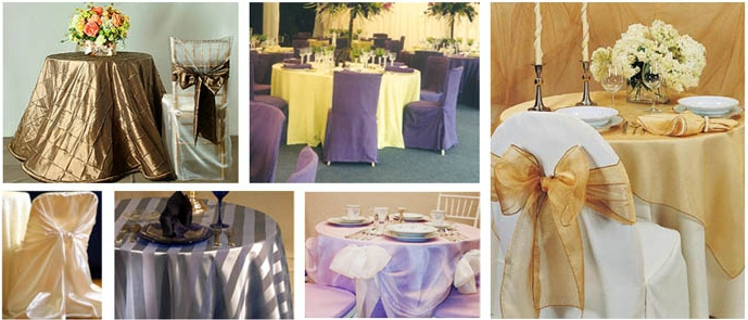 Linen rentals in Dutchess County