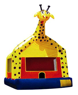 Where to find BOUNCE RIDE, GIRAFFE in Poughkeepsie