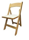 Rental store for CHAIR, WOOD NATURAL W PAD in Poughkeepsie NY