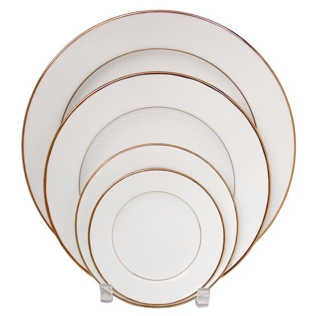Where to find PLATE, BUFFET IVORY GOLD RIM 12 in Poughkeepsie