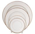 Rental store for PLATE, LUNCHEON 9  IVORY GOLD in Poughkeepsie NY