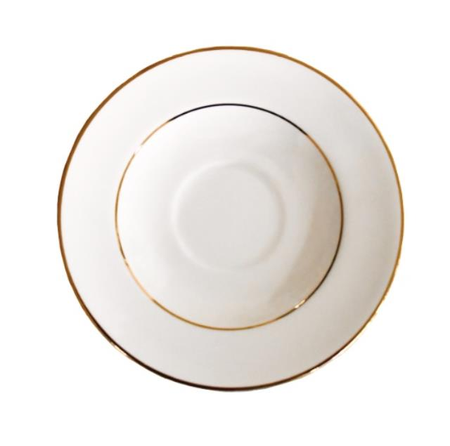 Where to find SAUCER, IVORY GOLD RIM 6 in Poughkeepsie