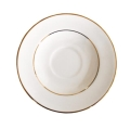Rental store for SAUCER, IVORY GOLD RIM 6 in Poughkeepsie NY