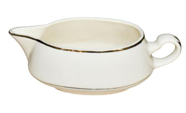 Where to find GRAVY BOAT, IVORY GOLD RIM in Poughkeepsie