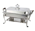 Rental store for CHAFING DISHES 8 QT WOOD HANDLE in Poughkeepsie NY