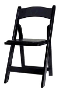 Rental store for CHAIR WOOD BLACK in Poughkeepsie NY