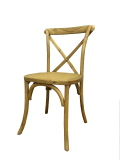 Rental store for CHAIR CROSS BACK OAK COLOR in Poughkeepsie NY