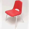 Rental store for CHAIR, CHILDREN S. RED METAL LEG in Poughkeepsie NY