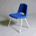 Rental store for CHAIR,CHILD,BLUE,METAL LEG in Poughkeepsie NY