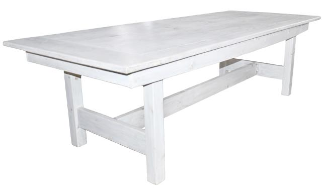 Where to find FARM TABLE WHITE WASHED 42X8 in Poughkeepsie