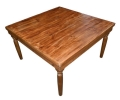 Rental store for FARM TABLE,SQ,GOLDEN OAK 54 X54 in Poughkeepsie NY