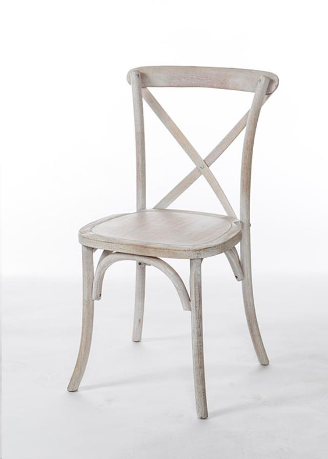 Where to find CHAIR,CROSS BACK WHITE WASH in Poughkeepsie