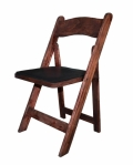 Rental store for CHAIR, WOOD FRUITWOOD W PAD in Poughkeepsie NY
